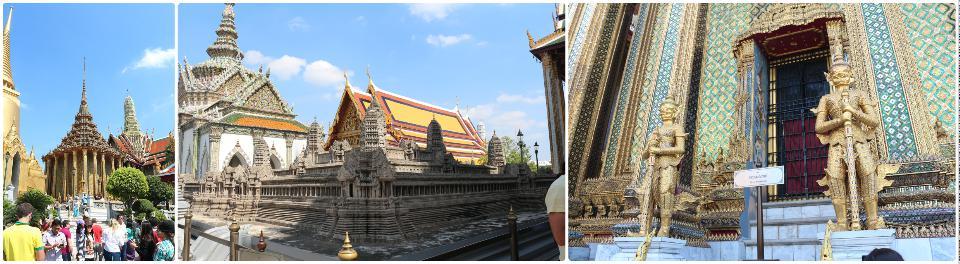 曼谷大皇宫, 各种金闪闪亮瞎狗眼