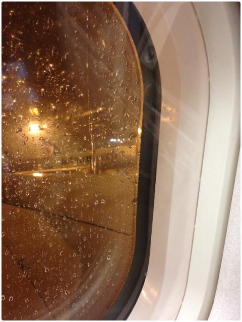 平安落地杭州, 窗外还是大雨