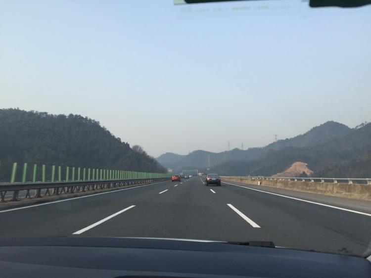 杭新景高速千岛湖方向