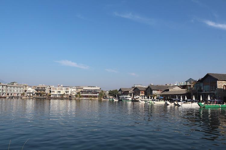 大理洱海 双廊渔村