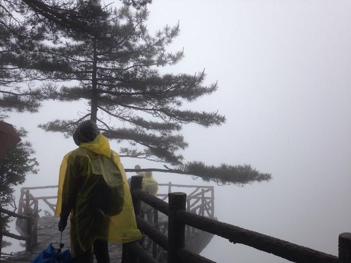 大雾中的黄山