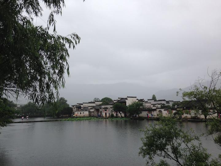 烟雨江南, 宏村南湖