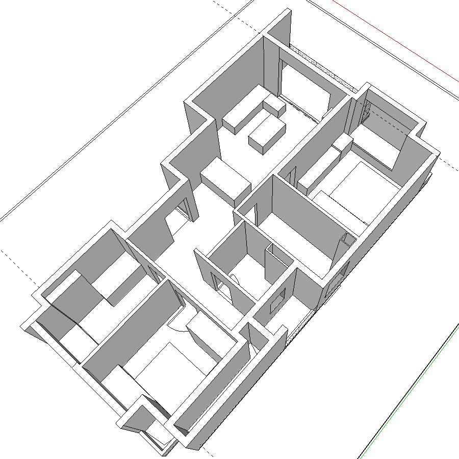 SketchUp 3D 规划图 2