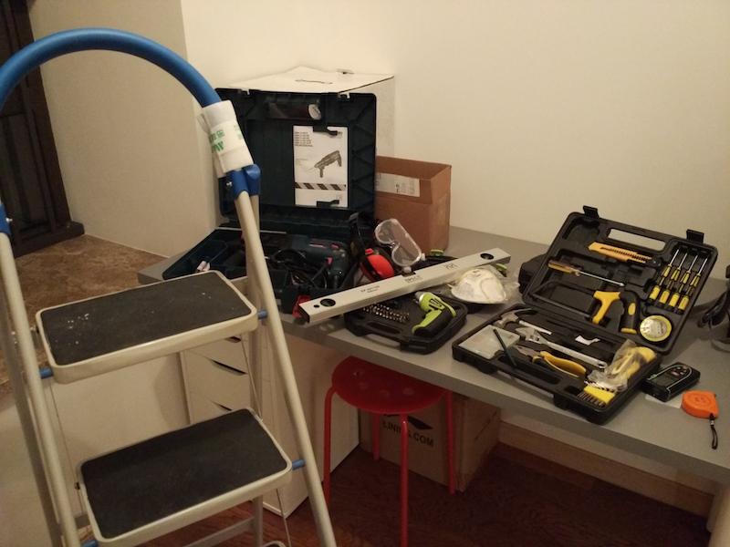 安装工具一览